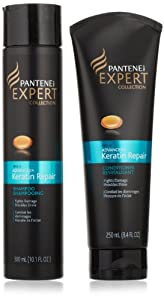 Pantene Pro-V Expert Collection Advanced Keratin Repair Shampoo + Conditioner 1 Kit