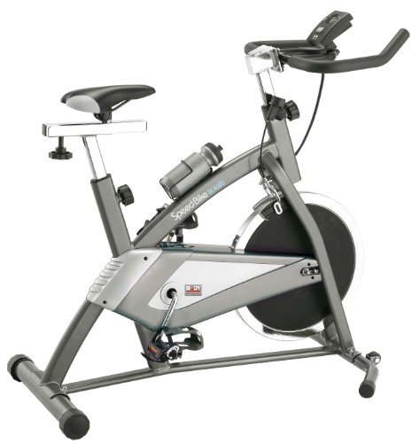 Body Sculpture BC4620 Pro Racing Studio Exercise Bike Grey & Silver