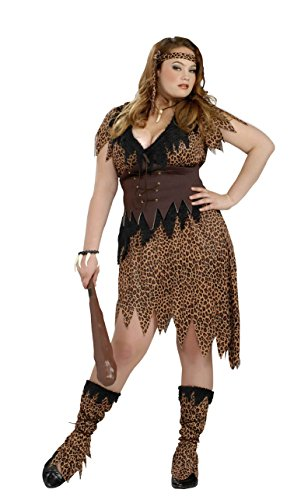 Forum Women's Plus Size Cave Beauty Costume