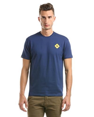 Hot Buttered Camiseta Manga Corta Short Sleeve Azul