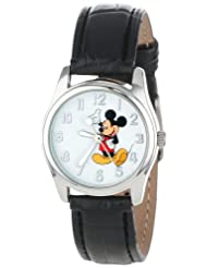 Disney Womens MCK810 Mickey Silver