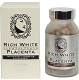 リッチ ホワイト プラセンタ(RICH WHITE PLACENTA)飲む化粧品 美白サプリメント108g(300mg×360粒)