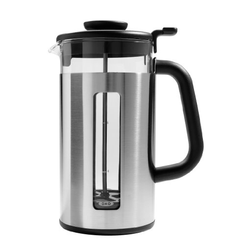 OXO Good Grips 1123480SS French Press, 8-Cup (Silver)