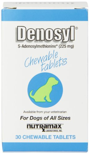 Nutramax 225-Mg Denosyl Chewable Tablets for Dogs - 30 Count