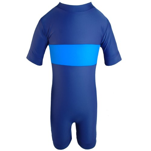 Breakers, UV Sun Protective One Piece Swimsuit for Infant/Toddler Boys (UPF 50+)