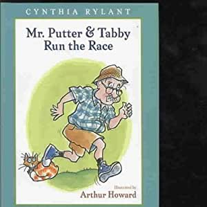 mr putter and tabby coloring pages - mr putter tabby run the race mr putter