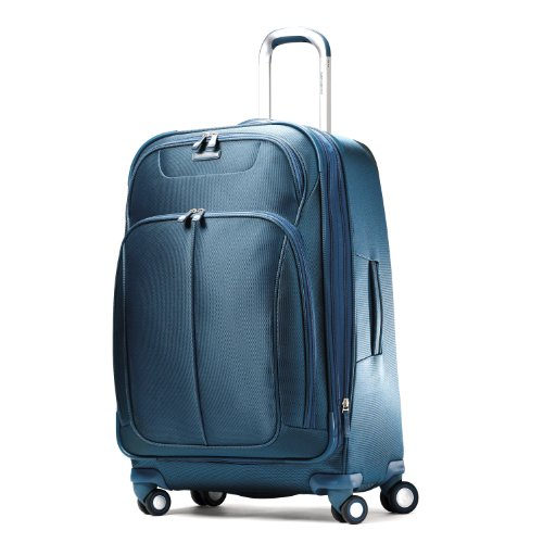 Samsonite Luggage Hyperspace Spinner 21.5 Expandable Suitcase, Totally Teal, One Size