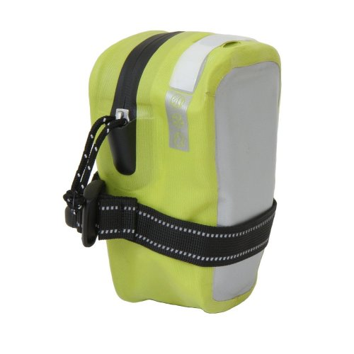 Pacific Outdoor Equipment Underseat Medium Bike Pouch (High Vis/Chrome)