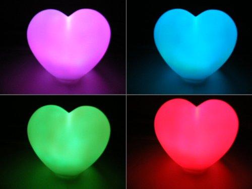 Ikea Kleiderschrank Frankfurt ~ Lampe Lumière d'Ambiance à LED qui change de couleur – Coeur