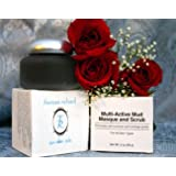 Multi Active Mud Mask and Scrub By Theresa Richard Promotes Cell Turnover and Unclogs Pores.