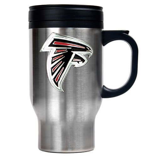 Nfl Atlanta Falcons 16Oz Stainless Steel Travel Mug (Primary Logo) front-601134