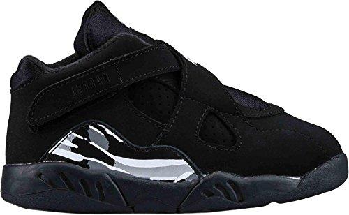 AIR JORDAN 8 Retro Bt Toddlers Style, Black/White/Graphite, 8 (Air Jordans 8 compare prices)