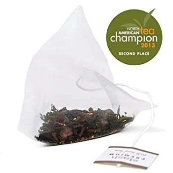 Black Forest Cake Pyramid Tea Bag