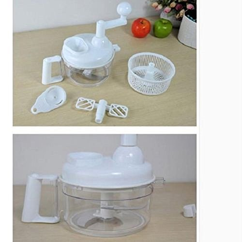 Kitchen Multifunctional Miracle Hand Food Processor Chopper Slicer Fw