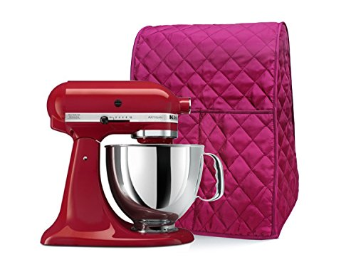 Aprince Mixer Cover - Diamond Stitching Style Collection - Year Around Protection (Red) (Kitchen Aid Blender Cover compare prices)