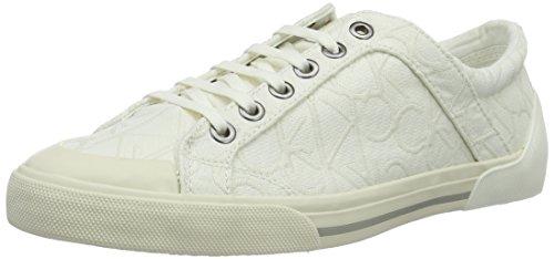 Calvin Klein Giselle, Sneaker donna, Bianco (Weiß - weiß), 38