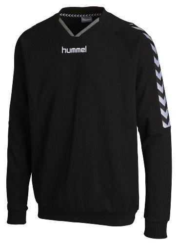 Hummel, Felpa in cotone Unisex bambino Stay Authentic, Nero (Black), 14-16 anni