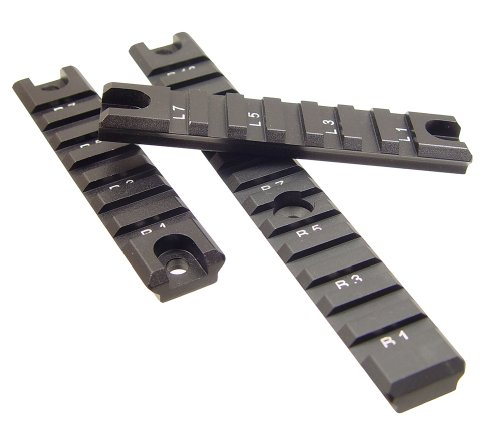 UTG MNTP503 Tactical Picatinny/Weaver Rail, Set 3