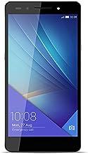 "Huawei Honor 7 - Smartphone de 5.2"" (4G, WiFi, Bluetooth, Dual Nano SIM, HiSilicon Kirin 935, 64 bit Super 8+1 Core, 2.2 GHz, 3 GB de RAM, 16 GB ROM, cámara de 20 MP/8 MP, Android 5.0 con EMUI 3.1) gris"