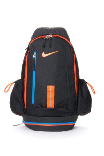 1d04d1ea3a52 Nike Male KD HOOPS Basketball Backpack Bookbag in Black-Orange (BA4715-089)