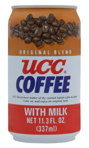 UCC Original Coffee with Milk, 11.3-Ounce Cans (Pack of 24) (Coffee Japanese compare prices)