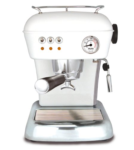 ASCASO DREAM espresso machine cloud white