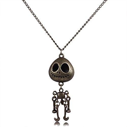 Qiyun iedlichen Aliens Roboter Baby Messing Kupfer-Anhänger -Halskett Halskette Anhänger Halsketten Ketten