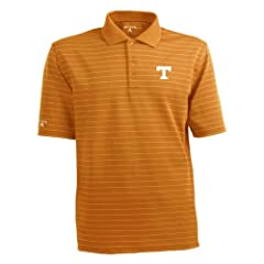 Tennessee Volunteers NCAA Elevate Mens Polo (Orange) by Antigua