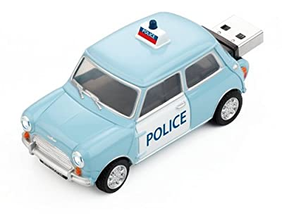 Mini Cooper S Police Car USB Memory Stick - 2Gb by Redismo