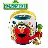 Sesame Street Rock With Elmo Musical Toy Boom Box