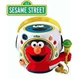 Sesame Street Rock with Elmo Musical Toy Boom Box