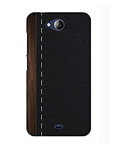 Pick Pattern Back Cover for Micromax Canvas Play Q355