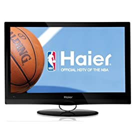 Haier HL22XSL2 Black 22-Inch Ultra Slim LED LCD HDTV