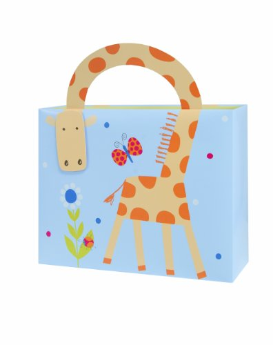 The Gift Wrap Company Gift Bags, Jungle Friends Boy, Medium, 12 Count front-752938