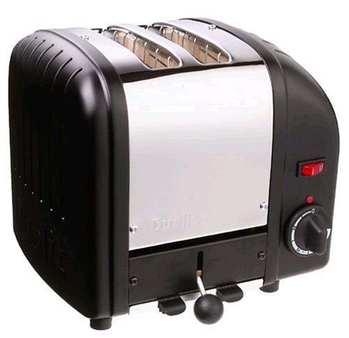 Dualit 2 Slice Toaster Black 20237