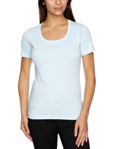 Jackpot Camille Plain Women's T-Shirt Pale Turquoise