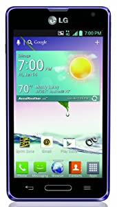 LG Optimus F3, Purple (Sprint)