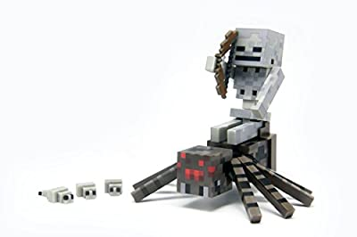 Minecraft Spider Jockey Action Figure Set from Minecraft