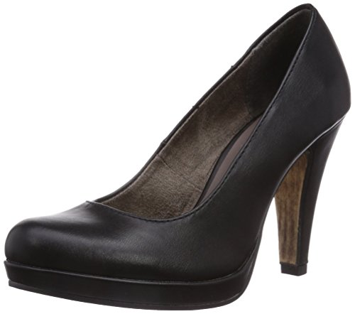 Tamaris 22426, Decolleté chiuse donna, Nero (Schwarz (Black Matt 015)), 38