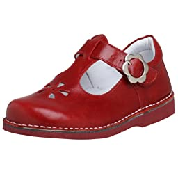 Kid Express Toddler/Little Kid Molly T-Strap,Red,25 EU (US Toddler 9 M)