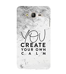 You Create your Calm 3D Hard Polycarbonate Designer Back Case Cover for Samsung Galaxy On7 G600FY :: Samsung Galaxy On 7 (2015)