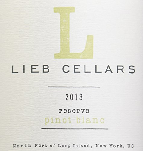 2013 Lieb Cellars North Fork Of Long Island Reserve Pinot Blanc 750 Ml