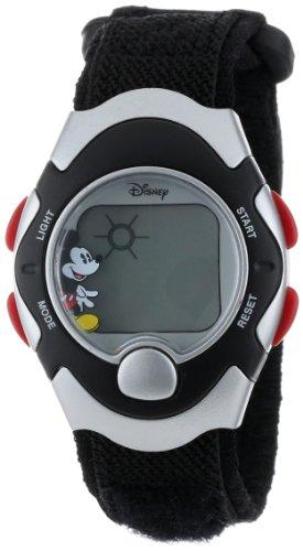 Disney Mickey Mouse Women's MCK367 Black Band Digital Watch