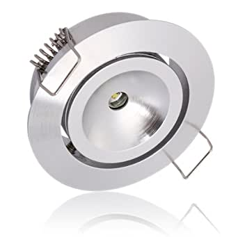Lighting EVER 1W LED Downlight 10W Halogen Replacement Recessed Lighting