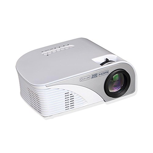 Pyle video projector 1080p full hd digital multimedia mini for Compact hd projector