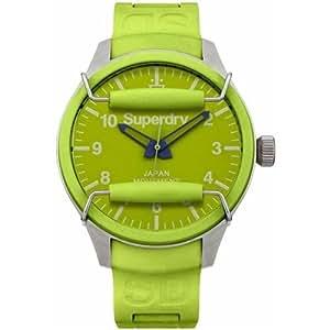 Amazon.com: Superdry Men's Scuba Lime Green Resin Strap - SYG123PN