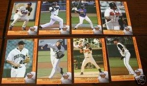 2005 PCL Top Prospects Texas Rangers Team Set 2 Cards Ian Kinsler Mint by Multi-Ad