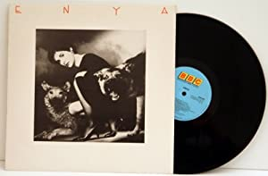 ENYA Enya. TOP COPY. Extremely rare beautiful first UK pressing 1986 on the BBC Enterprise label, mattrix hand written, ADRENILIN A1 and B1.