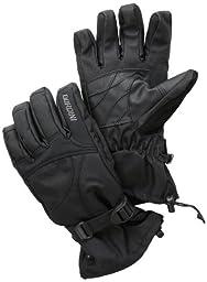 Gordini Men\'s Aquabloc Down Gauntlet II Gloves, Black, XX-Large