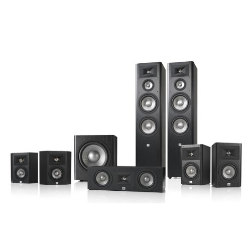 Jbl Studio 290 7.1 Home Theater Speaker System Package (Black)